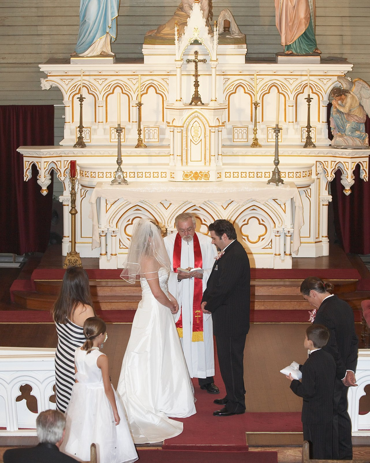 Preacher Wedding Altar: Galveston Island Weddings & Minister