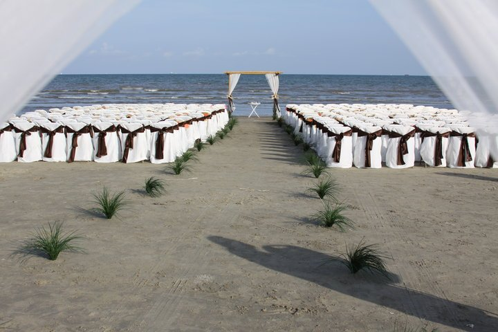 Island minister links to venues on galveston island and for Texas beach wedding packages